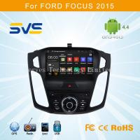 China Android 4.4 car dvd player with GPS for FORD FOCUS 2015 with GPS BT TV 3G DVR TPMS WIFI on sale