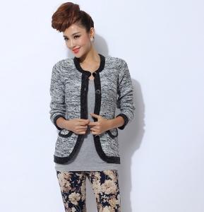 Best Anti-wrinkle Womens Wool Sweaters Cardigan Short Knit for winter wholesale