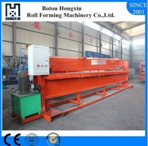 Best Aluminum Profile Hydraulic Shearing Machine Hydraulic Pump 4m Width Panel Suit wholesale