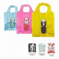Best Shoes Foldable Shopping Bag, Made of 190T Polyester, Folded in Shoes Design wholesale