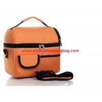 China Insulated polyesterlunch bag , orange built lunch bags for kids wholesale