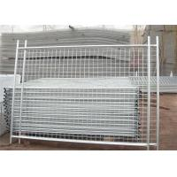 China Customized Secure Temporary Fencing Construction Fence Panels 22.00kg  on sale