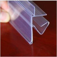 Best PVC Shelf Talker Supergrip Sign Show Card Price Label Holder Shelf Price Holder wholesale