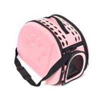 Best Breathable Pet Carrier Handbag Ventilated With Safety Buckle Zippers / Strap wholesale