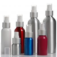China Essential Oil / Lotion Cosmetic Aluminum Bottles  , Reusable Cosmetic Pump Bottles on sale