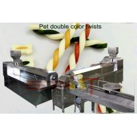 China Siemens PLC Control Double Screw Extruder Machine For Snacks / Breakfast Cereal on sale