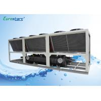 China R22 Gas Industrial Air Cooling Air Cooled Water Chiller , Water Chilling Unit on sale