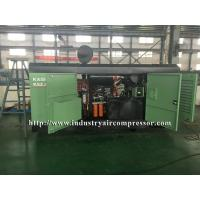 Buy cheap Diesel Driven Screw Air Compressor Easy Serviceability For Water Well Drilling from wholesalers