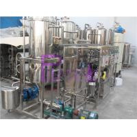 Best 1000L/H Vacuum Deaerator Juice Processing Equipment With SUS304 Vacuum Degassing Machine wholesale