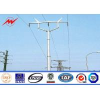 Best Galvanized Metal Power Transmission Poles PowerTransmission Tower Iron Electric Pole wholesale