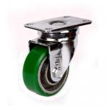 Best 125mm green polyurethane iron cast core caster wholesale