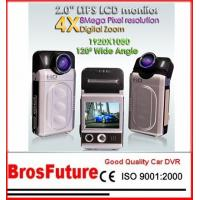Best Built-in Speaker 1920*1080 i60 1080P Car Black Box Dvr With 5 Mega Pixels CMOS Sensor wholesale