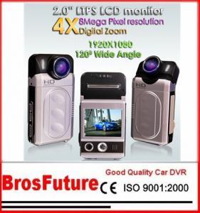 Best MOV H.264 5 Mega Pixels CMOS Sensor 1080P HD Camcorder with Night Vision Focus7.45MM wholesale