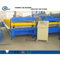 PLC Control System Steel Sheet Roll Forming Machine For Corrugated Roof Panels