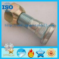 China High Strength Hub Bolt With Nut,Zinc plated knurled bolt with nut,High tensile bolt with nut,Grade 10.9 bolt and nut set on sale