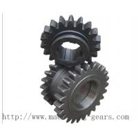 China Standard Industrial Duplex Chain Sprocket Wheels For Double Roller Chain on sale
