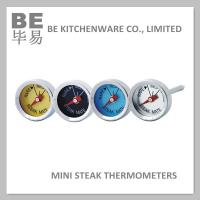 China Mini Button Gas Barbecue Grill Thermometers Set of 4 Pack on sale