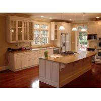 Buy cheap white shaker kitchen cabinet with raised panel from wholesalers
