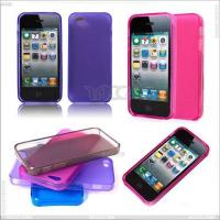 Best New Arrival for iPhone5 Case, Colorful Transparent TPU Case P-Iph5TPU024 wholesale