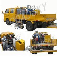 Buy cheap Truck-mounted Cold Solvent Road Marking Machine from wholesalers