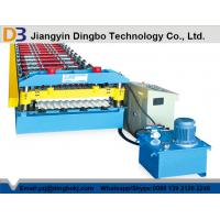 Best 10-15M / Min Forming Speed Corrugated Roofing Sheet Roll Forming Machine wholesale