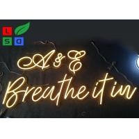 China Warm White Cool White Customized LED Neon Signs For Restaurant And Stores on sale