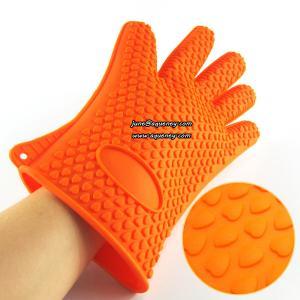China FDA Silicone glove Silicone Oven Glove silicone heat resistant glove on sale
