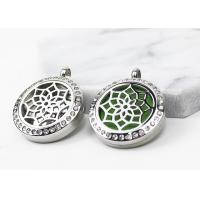 Custom Stainless Steel Essential Oil Jewelry Diffuser Locket Necklace