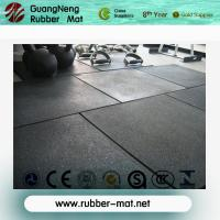 China Square type stall rubber paver / rubber flooring tiles on sale