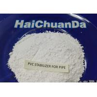 Best White Powder Heat Stabilizer For PVC Pressured Pipe , Environmentally Friendly wholesale