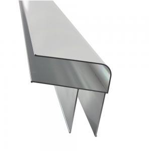 Best 6063 T5 Anodized Silver D Shape 5.8m Aluminum Alloy Ladder Profiles wholesale