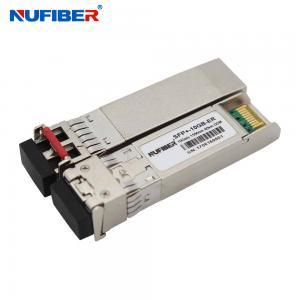 Best SFP-10G-ER 10G SFP+ Transceiver Dual Fiber Singlemode 40km 1550nm LC DDM wholesale