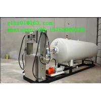 Best White OEM Liquefied petroleum/propane gas mobile skid mounted LPG station for Ghana wholesale