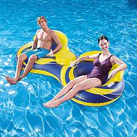 Inflatable Cooler Tube The two-person design