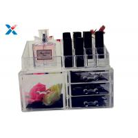 Best Eco Friendly Acrylic Makeup Organiser With Drawers Display Storage Box wholesale