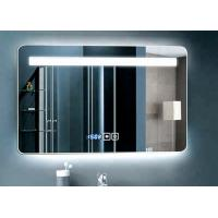 China Large Wall Decorative Luxury Illuminated Bathroom Mirrors / LED Touch Screen Mirror on sale