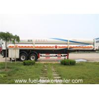 Best 3 Axles Propane Tank Trailer Delivery Trucks CNG Gas Tank Semi Trailer wholesale