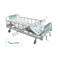 China ICU / pediatric hospital patient bed rolling hospital bed with side rails ISO9001/13485 on sale