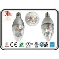 Best Energy Saving Dimmable LED Candle Bulbs 3.5 W E27 360 Degree For Chandelier wholesale
