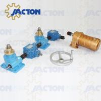 Best Four Worm Screw Jack Actuators and Positioning Systems,Gear Boxes,Shafts,Couplings,Motors wholesale