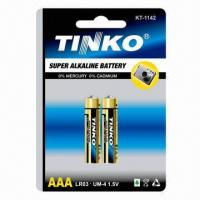 China Super Alkaline Batteries, Sized with 1.5 Nominal Voltage, Consumer Dry Battery Type on sale