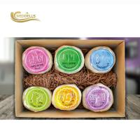 China Custom Art Naturals Bath Bombs Gift Set , 6 Pcs Bath Bomb Christmas Set on sale