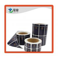 Custom Made Self Adhesive Printing Labels Stickers with Round Corner