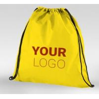 Best Tote shopping bag supplier recyclable pp laminated non woven bag, Promotional ultrasonic Golden non woven laminated shop wholesale