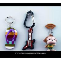 Best Custom 3d soft pvc keychain key chain / Soft Rubber Keychains / Silicone Keyring wholesale