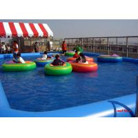 Best Mix Colored Tarpaulin Blow Up Swimming Pools 10mx8m Size For Amusement Park wholesale