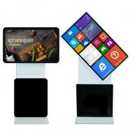 Buy cheap Interactive Security Multi Station Rotating Advertising Kiosk Wifi 4G Remote from wholesalers
