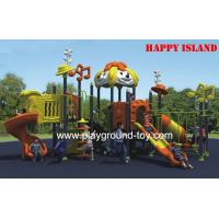 Best 3.0mm Thickness Galvanized Steel Outdoor Playground Equipment For Amusement Park wholesale