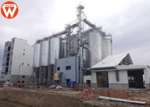 China livestock Poultry Feed Production Process Line With Eight 1200Ton Silos on sale