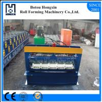 Best High Speed Metal Sheet Forming Machine , Durable Corrugated Roof Sheeting Machine wholesale